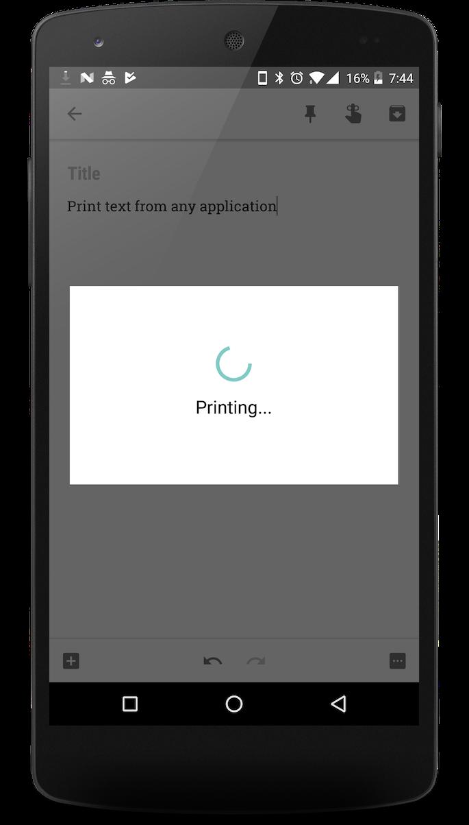 Quick Printer